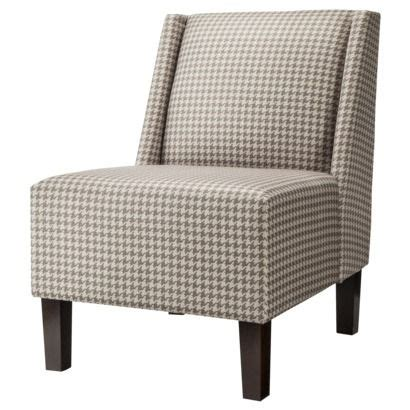 Target Hayden Armless Chair by Armless Chair Houndstooth And Chairs On