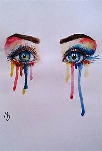 Crying eyes - image #2162226 by marky on Favim.com