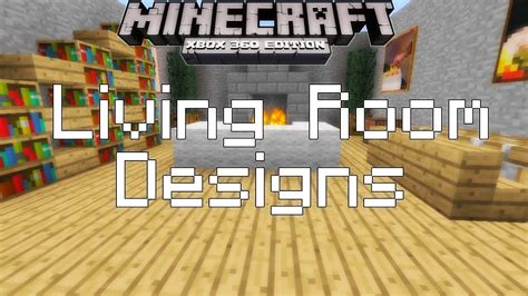 Minecraft Xbox 360 Living Room Designs by Minecraft Xbox 360 Simple Living Room Designs