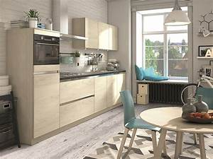 Kleine Küchenzeile Ikea : kleine k che k chenzeile tessina in holzdekor ulme ~ Michelbontemps.com Haus und Dekorationen