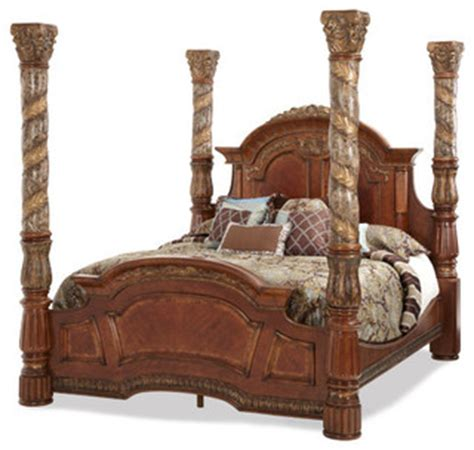 villa valencia california king poster bed victorian