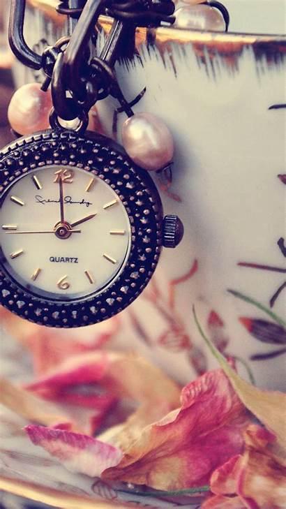 Girly Iphone Wallpapersafari Clock