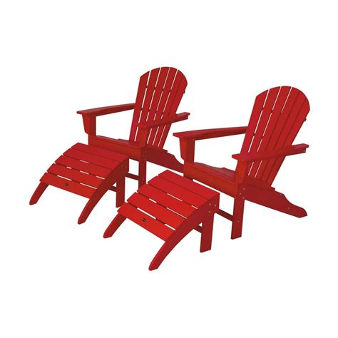 polywood south sunset patio adirondack chair 2