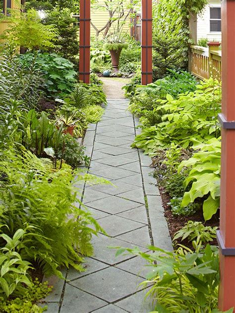 landscaping ideas walkways and paths 17 best images about garden path ideas cut stone walkways bhg on pinterest gardens stone