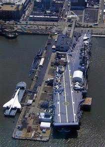 NYC USS Intrepid Aircraft Carrier