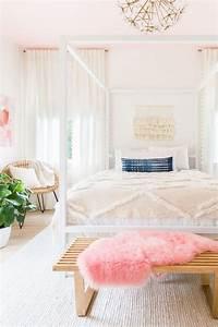 Décoration Chambre Scandinave : d co scandinave rose une chambre la d co scandinave f minine ~ Melissatoandfro.com Idées de Décoration
