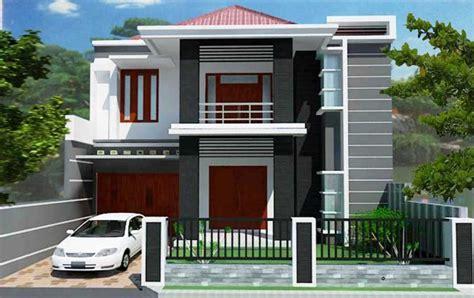 gambar desain rumah type   lantai tampak depan rumah
