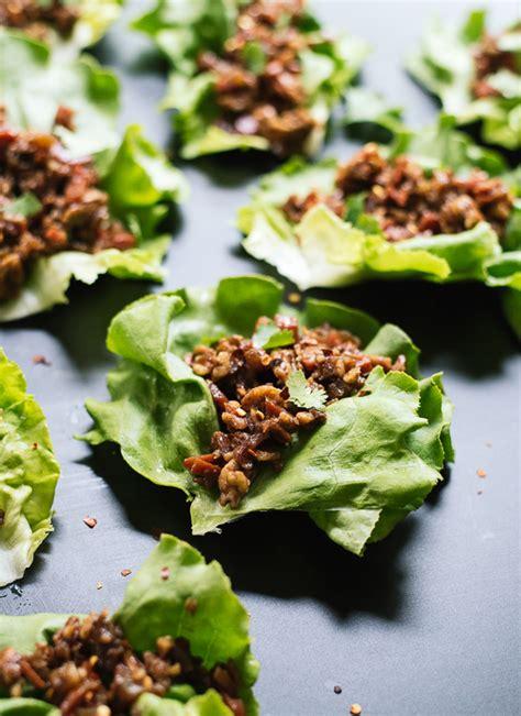 thai style lettuce wraps cookie  kate