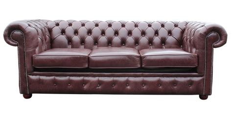 brown red leather chesterfield sofa bed designersofasu
