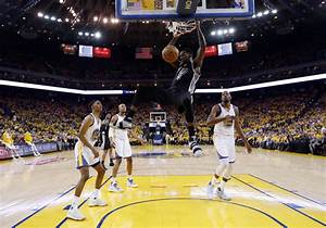 Warriors trounce Leonard-less Spurs to take 2-0 series ...