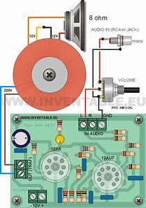 Mini Amplificador Valvular