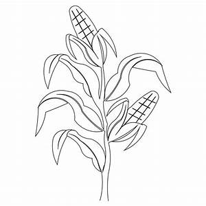 Corn clip-art for carved sign | Someday I will make this ...