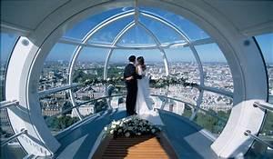 Spectacular Unusual Wedding Venue London Eye Capsule