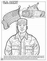 Coloring Army Pages Force Air Soldier Military Printable Forces Books Guard Armed States United Coast Colouring Navy Drawing Congress National sketch template