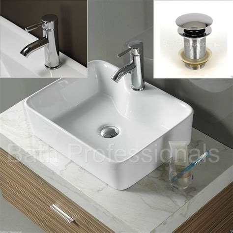 Bathroom Basin Sink by Basin Sink Ceramic Countertop Bathroom Square Cloakroom