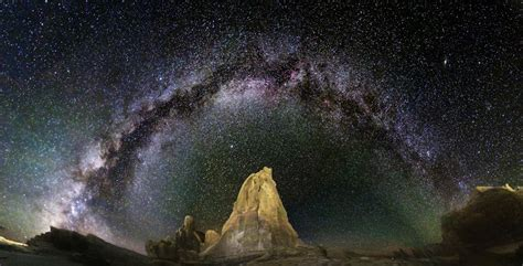 Astrophotography Blog Arching Milky Way Over Arches