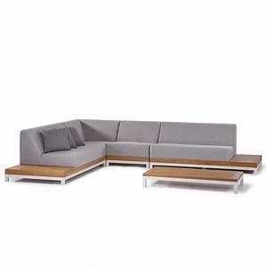 Revetement Mousse Exterieur : idaho set de jardin en aluminium teck et mousse ~ Premium-room.com Idées de Décoration