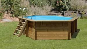 Piscine Hors Sol En Bois Pas Cher : piscine hors sol bois cdiscount good piscine semi enterre ~ Premium-room.com Idées de Décoration