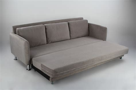 3 Sofa Bed by Cozy 3 Seater Pull Out Sofa Bed Grey Furniture Home