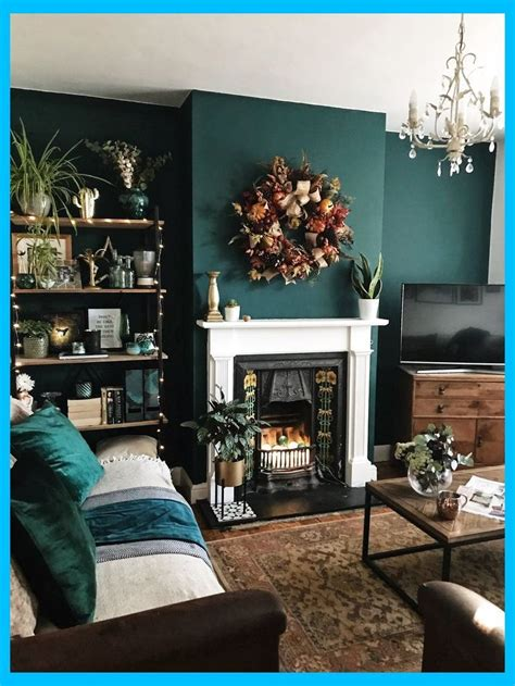 How To Use Dark Green in Your Living Room Living Room