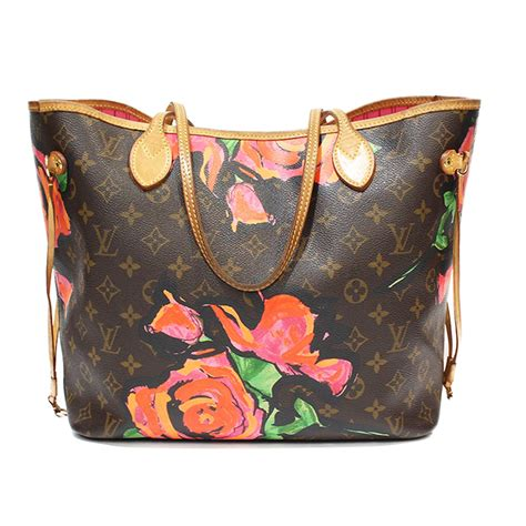 louis vuitton limited edition stephen sprouse neverfull bag  chic selection