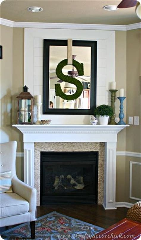 above fireplace decor mantels wall treatments and mirror on pinterest