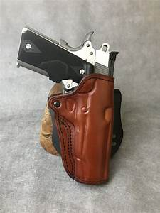 1911 Commander Leather Paddle Holster Etw Holsters