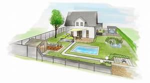 beautiful gartenplaner online gratis pictures house With garten planen mit balkon rattan