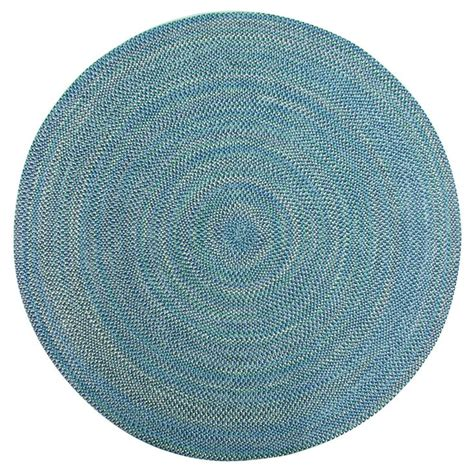 smithfield multi color indoor outdoor braided rug 8 39 round