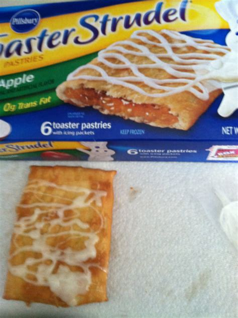 Toaster Strudel In The Oven - ramblings of a semi i can t eat toaster strudel