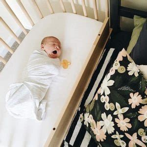Half Crib That Attaches To Bed by Babybay Bedside Sleeper A Crib That Can Attach To Your