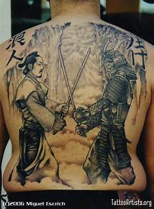 17 Amazing Samurai Tattoos - Tattoo Me Now