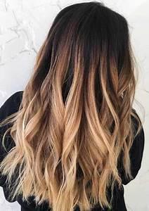 Dunkle Farbe überstreichen : 10 wundersch ne blonde und dunkle haare farbe ideen ~ Lizthompson.info Haus und Dekorationen