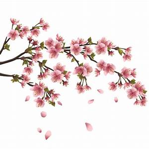 Japan Cherry Blossoms free vector 03 - Vector Flower free ...