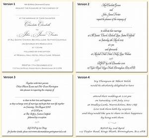 Example wedding invitation wording and fonts echo of for Examples of wedding invitation wording uk