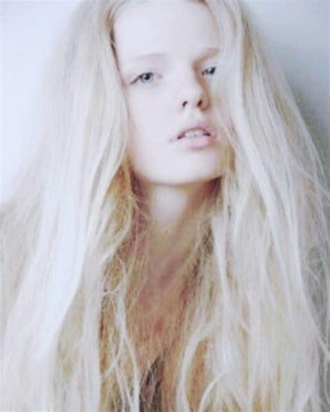 White Hair White Hair Girl Platinum Silver Hair