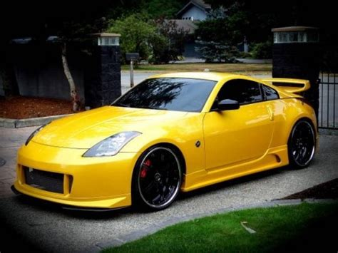 nissan yellow yellow nissan 350z upgrade the interior of your 350z with