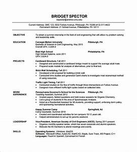 16 civil engineer resume templates pdf doc free With resume format for civil engineer experienced