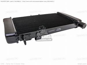Radiator Comp  For Nt650v Deauville 2002  2  England