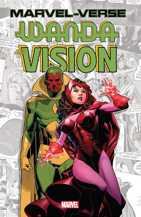 Marvel-Verse: Wanda & Vision – Get Ready Comics