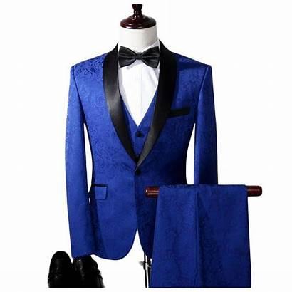 Suits Jacket Tuxedo Suit Royal Jacquard Threadcreed