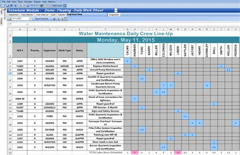 schedules template in excel excel spreadsheet template for scheduling spreadsheet