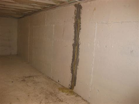 Foundation Wall Cracks Boccia Brothers Waterproofing