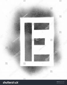 stencil letters in spray paint stock photo 29912599 With spray paint letter templates