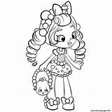 Coloring Pages Shopkins Shoppies Printable sketch template