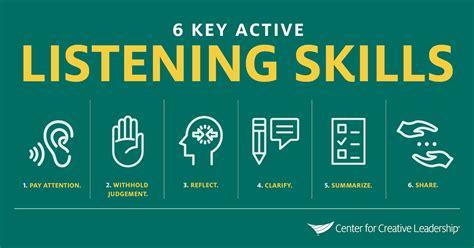 active listening skills  improve  relationship
