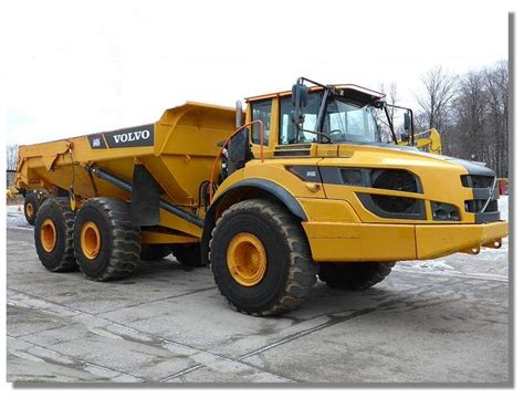 volvo ag articulated dump truck adt year