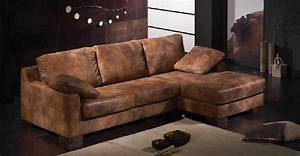 canape d angle cuir vieilli canape idees de decoration With canapé d angle cuir vieilli