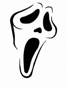 ghost face clipart 52 With scream pumpkin template