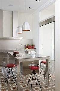 Living, In, Designland, Interior, Cocina, Acero, En, Entorno, Modernista